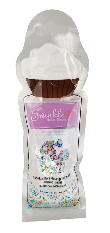 Sprinkles 30g Mermaid Mix  Pouch