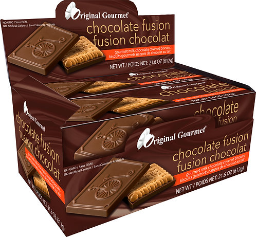 Gourmet Original Chocolate Fusion Box Cookie Mlk