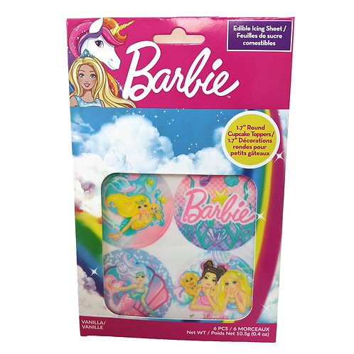 Barbie Edible Icing Sheets