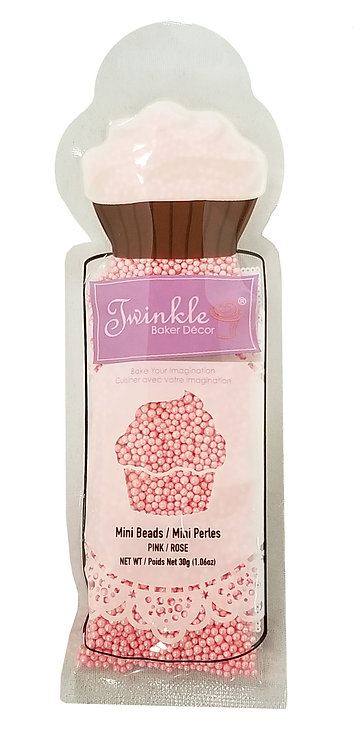 Sprinkles 30g Pink Mini  Beads Pouch