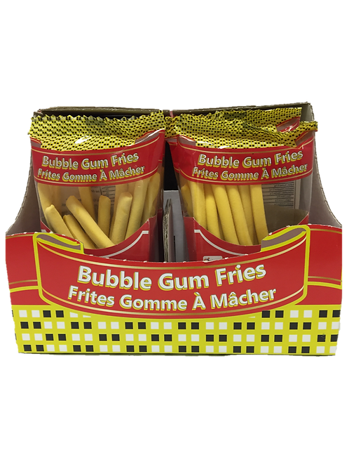 French Fries Bubble Gum
