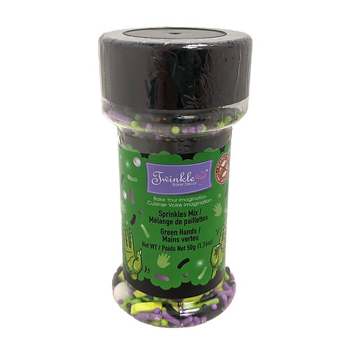 Sprinkle Mix Green Hands 50g