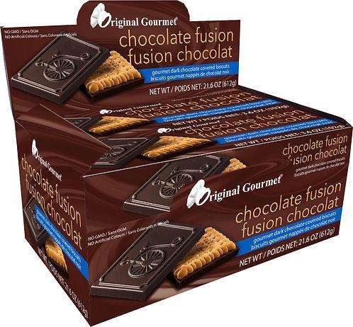 Gourmet Original Choc Fusion Box Cookie Dark