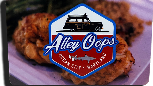 Alley Oops Gift Card