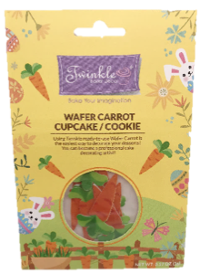 Wafer Toppers -  Carrot