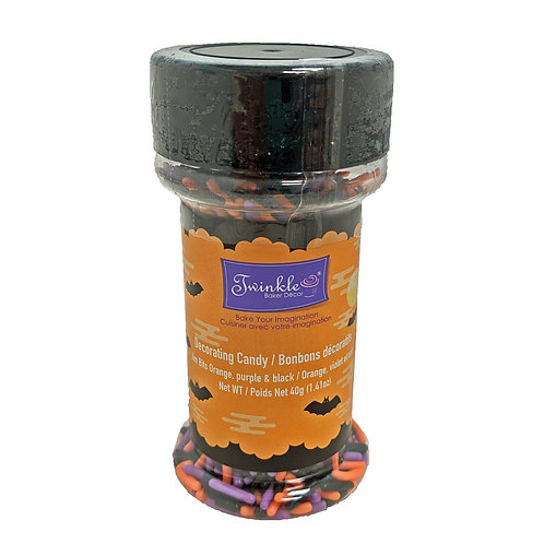 Sprinkles Jim Bits Orange, Purple & Black 40 g