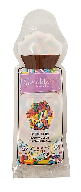 Sprinkles 30g Rainbow Jim Bits  Pouch