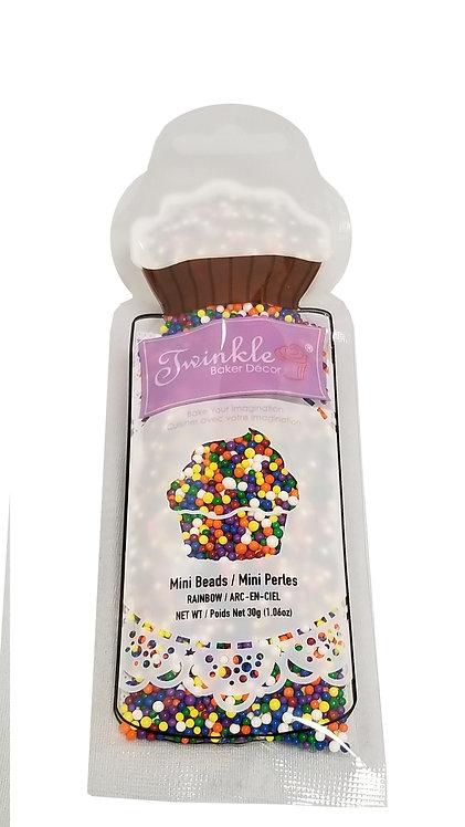 Sprinkles 30g Rainbow Mini Beads Pouch
