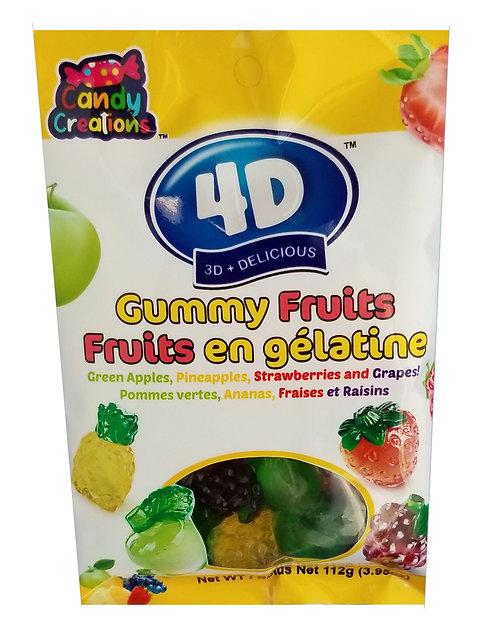 4D Gummy Fruits bag