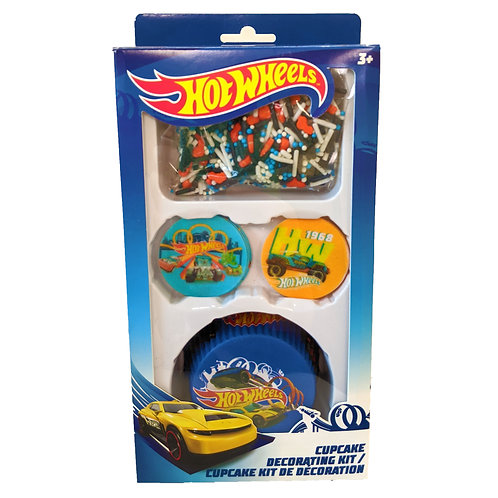 Hot Wheel Cupcake Decorating Kit