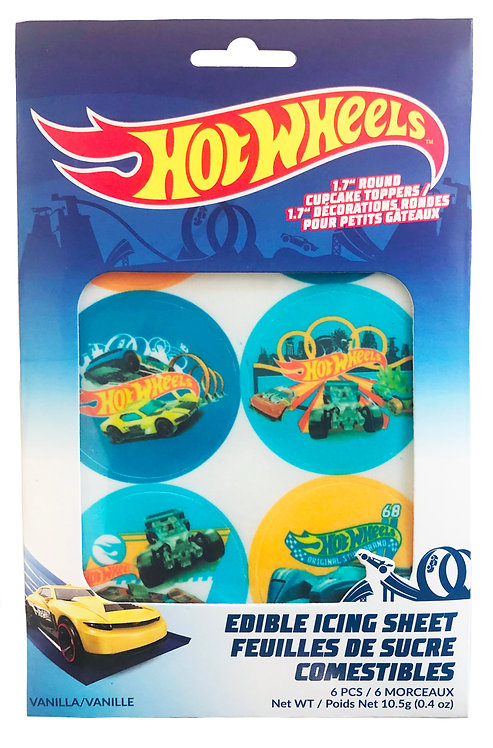 Hot Wheels Edible Icing Sheet