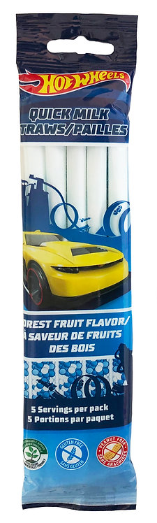 Biodegradable Hot Wheels Quick Milk Clipstrip 5 cnt
