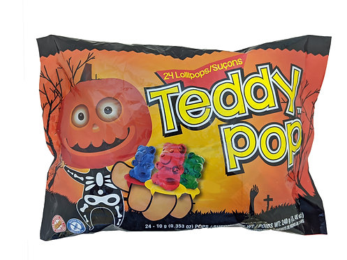Teddy Pop 24 ct Halloween Laydown Bag