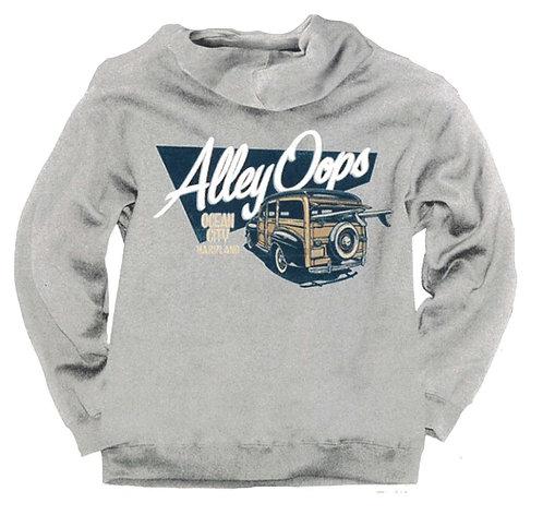 Alley Oops Logo Hooded Sweatshirt