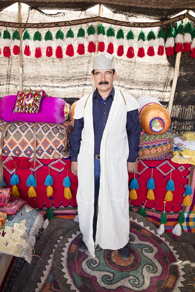 A Qashqai man