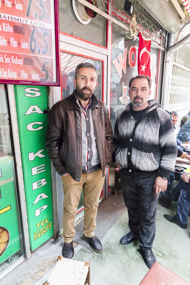 Two Circassians friends in Kayseri