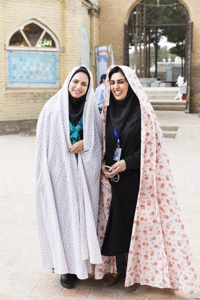 Two Iranian women