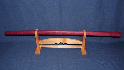 Purple Heart Bokken