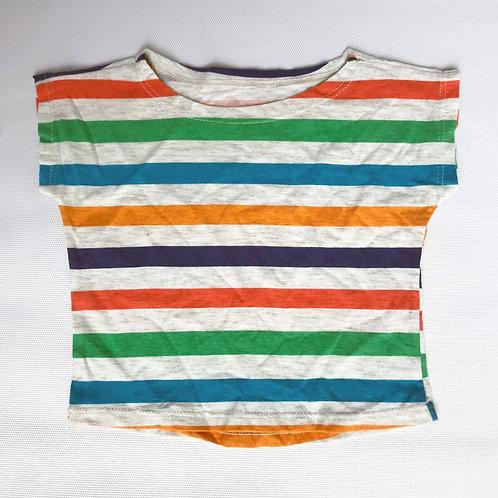 Camisetinha Listras Multicolor