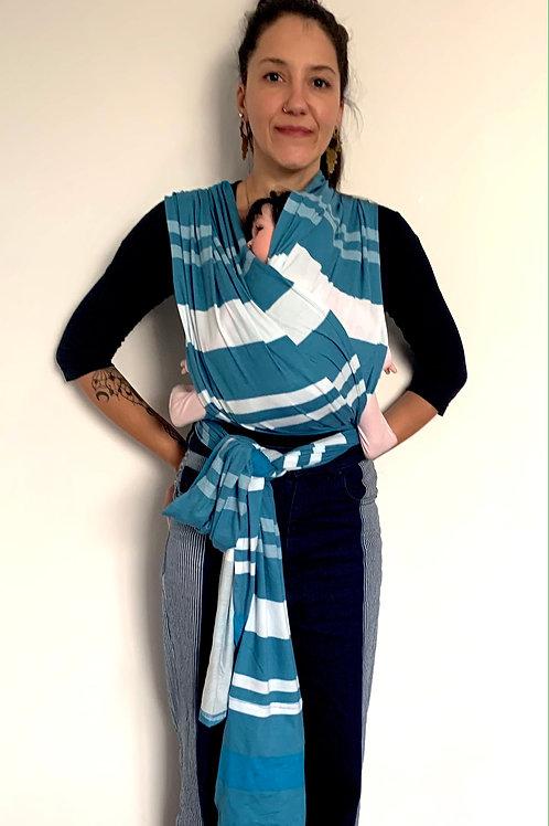 Camie Sling Listras azuis