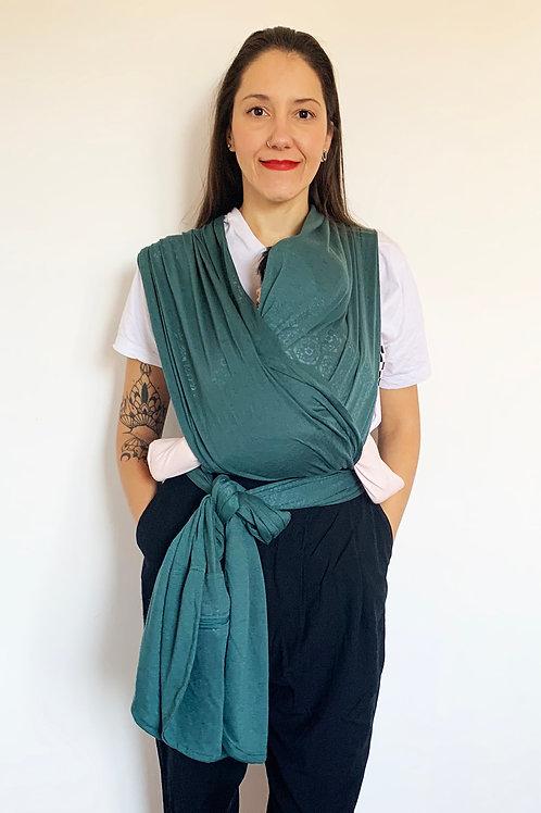 Camie Sling Verde Devoré (bem levinho)