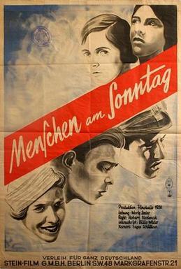 Menschen am Sonntag 1930 | © Filmstudio 1929/ Deutsche Kinemathek