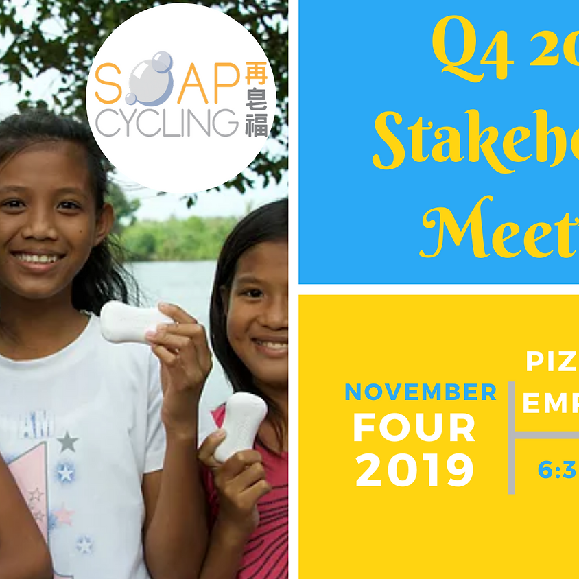 Soap Cycling Q4 Stakeholder Meeting