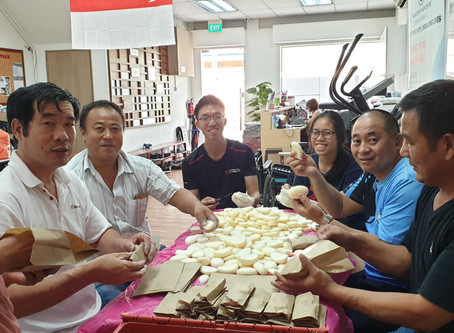 Team Work: Cleaning & packing soap alongside Singapore's migrant workers
