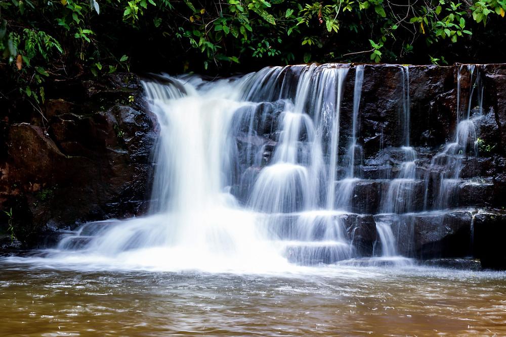 Cachoeira do Parque Estadual da Serra Azul