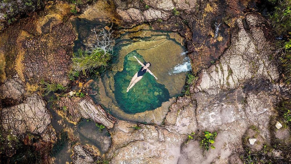 GoMartins Alice Morais poço do amor circuito águas do cerrado chapada dos guimarães