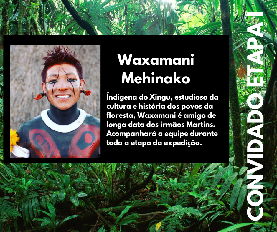 Foto indígena waxamani mehinako convidado para a missão brasil