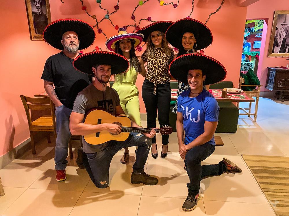 Pancho Villa Cuiabá restaurante mexicano gomartins