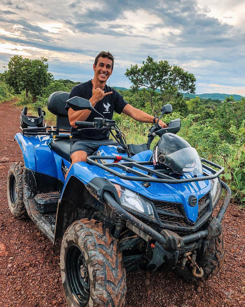 Quadriciclo nobres mt Henrique Martins