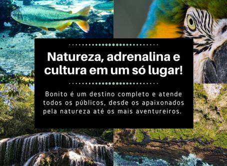 Bonito: Natureza, adrenalina e cultura