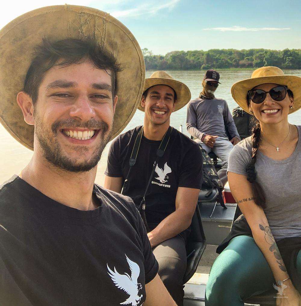 Equipe GoMartins Pantanal Mato Grosso