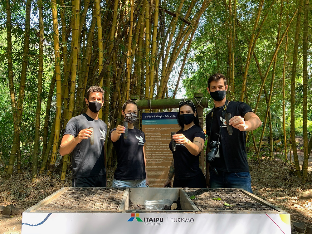 Projetos ambientais Usina Itaipu