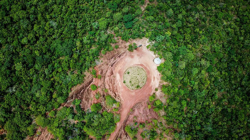 discoporto ovni parque estadual da serra azul