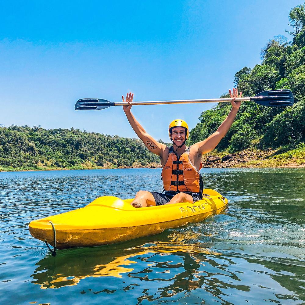 Caiaque Aguaray Foz do Iguaçu -