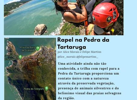 Rapel na Pedra da Tartaruga - Rio de Janeiro
