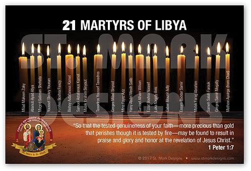 21 Coptic Martyrs of Libya