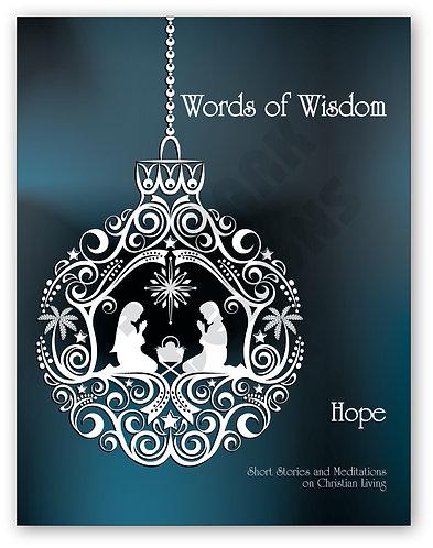 Hope Book (Inspirational Text) – 100 Books @ $2.25 each book