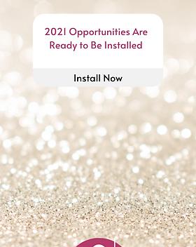 2021 New Year Instagram Story Notificati