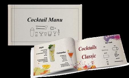 Coctail menu