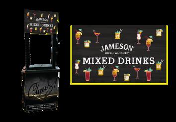 Mixed-drink-bar