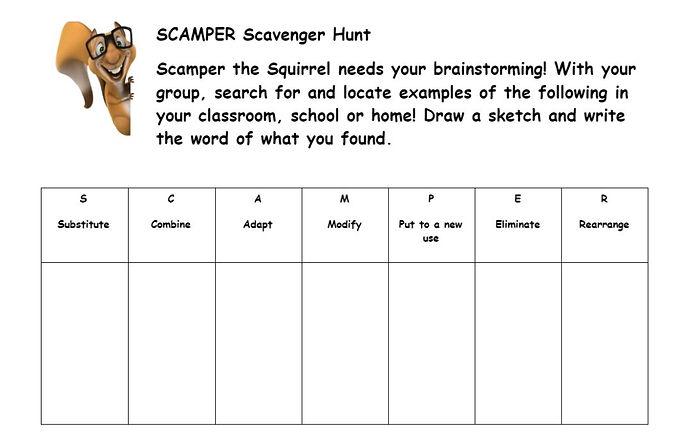 Scamper Scavenger hunt.JPG