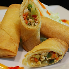 Chicken spring roll (4pcs)