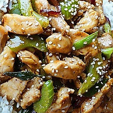 Garlic pepper chicken