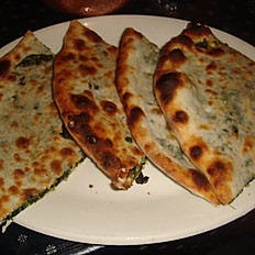 Spinach Naan