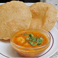 Cholla/Aloo Poori