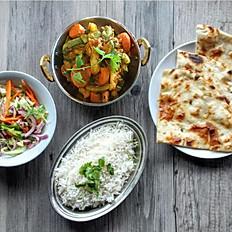 Kadhai Sabzi Lunch Box